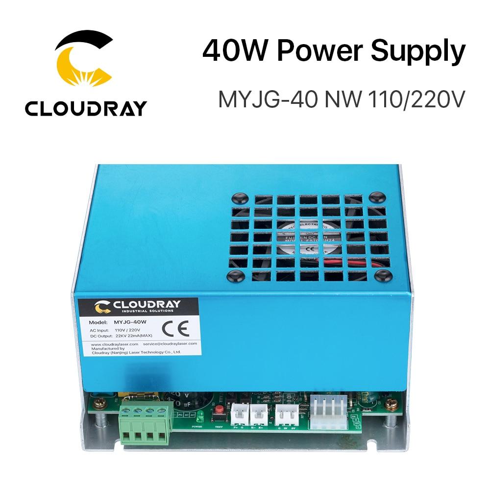 Alimentatore laser a CO2 Cloudray 40W MYJG-40 110 V 220 V per - Parti di macchine per la lavorazione del legno - Fotografia 4