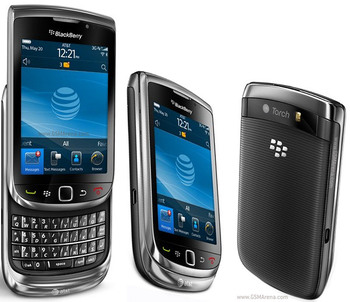 Original BlackBerry Torch 9800 Refurbished Mobile Phone With 5MP Camera And OS QWERTY Keyboard