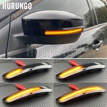 Para ford kuga escape c520 ecosport 2013 2018 dinâmico transformar a luz do sinal led asa lateral espelho retrovisor lâmpada indicadora sequencial