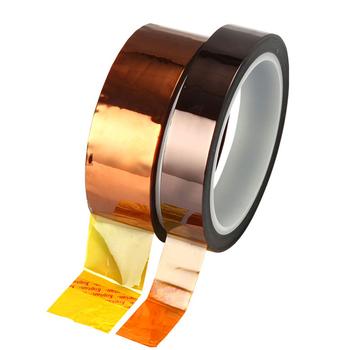 Nowa taśma izolacyjna termiczna izolacja poliamidowa taśma samoprzylepna Panel Protector 3D wysoka temperatura ciepło taśma izolacyjna tanie i dobre opinie CN (pochodzenie) Metalworking Tape Drukarka 3D Taśmy