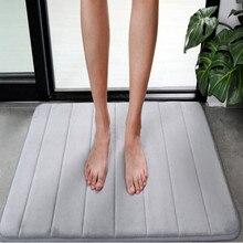 free shipping soft comfortable non-slip Water absorption bath mats bathroom carpet mat rug set