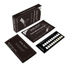 Tiras blanqueadoras de dientes de carbón vegetal, Kit de blanqueamiento Dental para el cuidado de la higiene bucal, herramienta blanca de esmalte, 28/14 Uds.