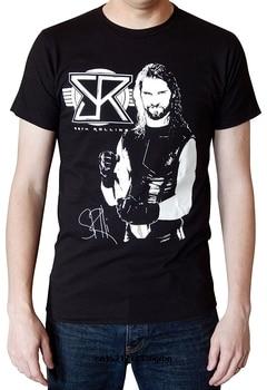 Seth Rollins Initials Logo Black funny t-shirt