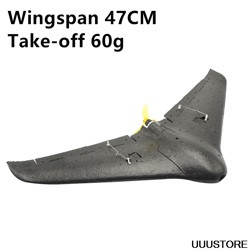 DF Mini Spirit RC Airplane EPP Foam Airplane Flying Model Aircraft Kits Delta Wing Electric Remote Control Glider Model  KIT/PNP