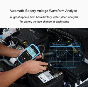 Image 4 - Tester della batteria dellautomobile di TOPDON AB101 12V Test della batteria di tensione analizzatore del caricatore automobilistico 2000CCA Tester di Circut di ricarica a manovella per auto