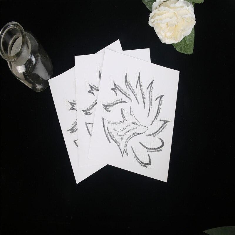 Flowers in a field Makeup Stencil