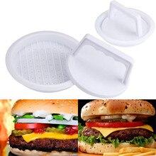 Мясо для гамбургеров пресс-форма практичный кухонный аксессуар гриль производитель гамбургеров говядины пресс-форма пластик приготовление пищи Горячая