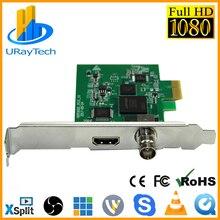 Full HD 1080P HDMI SDI карта захвата PCIe захват игры PCI-E HD Видео Аудио Захват HDMI/SDI для PCI PCIe для Windows, Linux