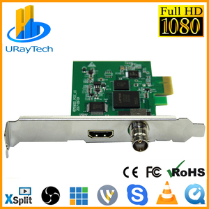 Full HD 1080P HDMI SDI карта захвата PCIe, захват для игр PCI-E HD Видео Аудио Захват HDMI /SDI к PCI PCIe для Windows, Linux