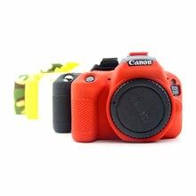 Силиконовый чехол DSLR Камера тела крышка протектор видео сумка для Canon 5DSR 5D3 6D 5D4 800D 80D 200D 1300D 1500D 650D 700D 6D2