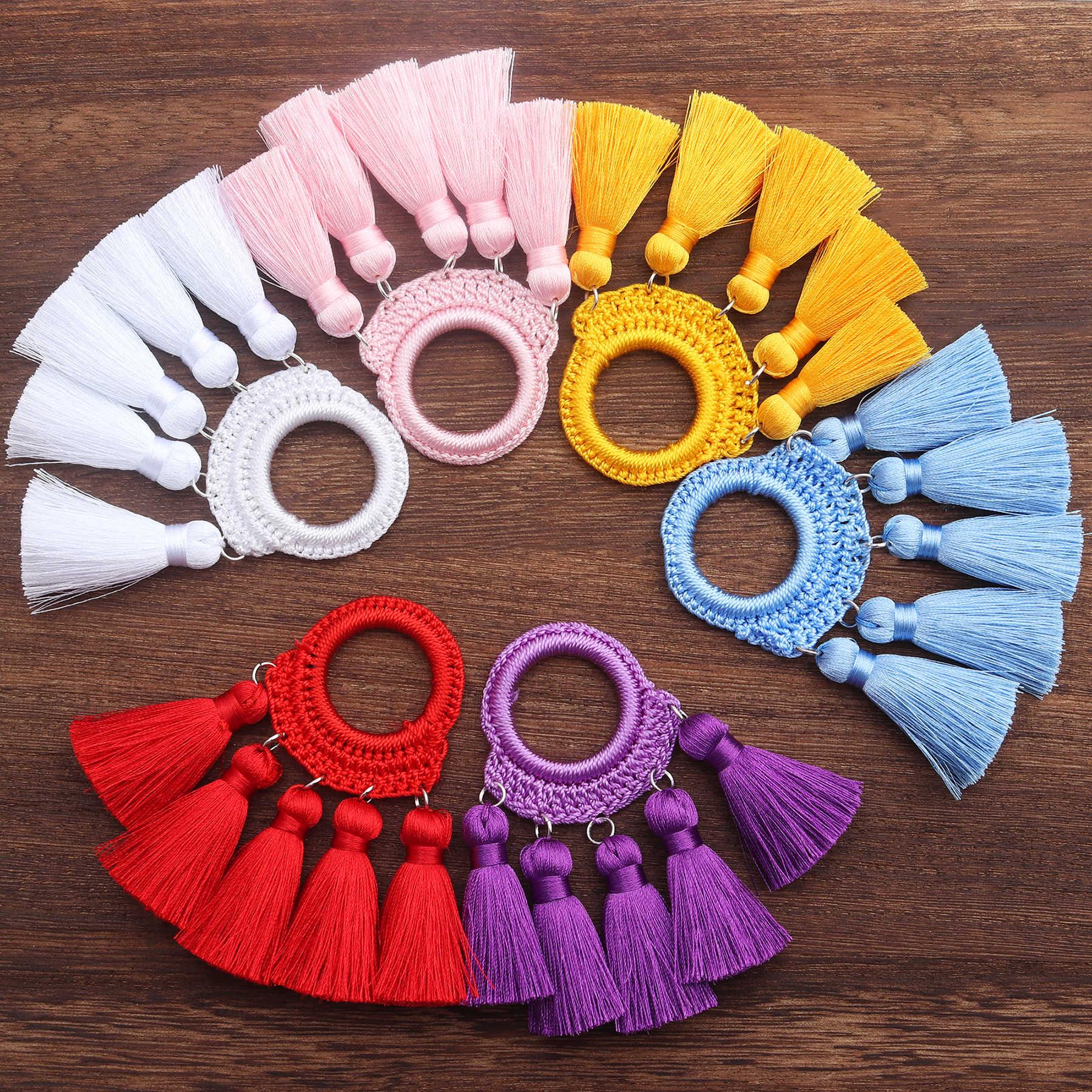 Gufeather L202, Sieraden Accessoires, Zijden Kwasten, Diy Oorbellen, Sieraden Bevindingen Componenten, Hand Made, jump Ringen, Sieraden Maken