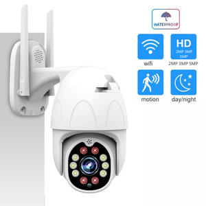 1080P 3MP 5MP  PTZ  WiFi Camera Onvif HD H.264 Security IP Camera WiFi 4X Zoom Camera Outdoor surveillance camera zoom Camhi APP