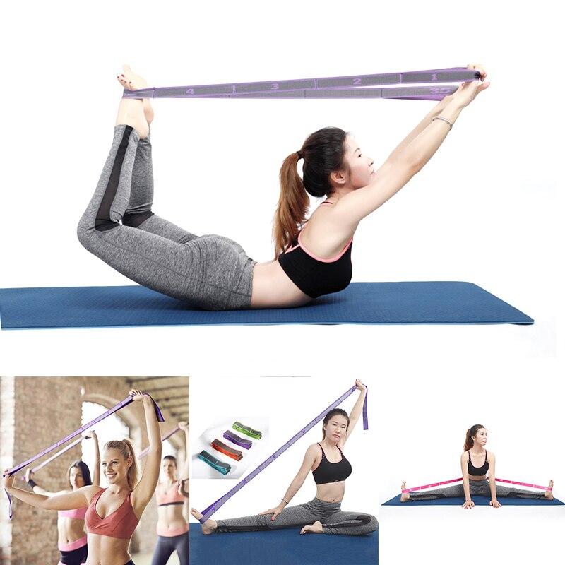 NEW Yoga Belt Professional Gymnastics Supplies Adult Girl Latin Trainer Stretch Resistance Band Training Fitness Elastic Band