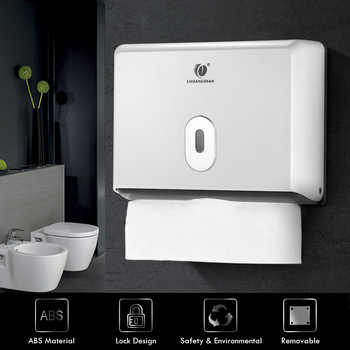 Wall mounted Tissue Box Holder Kitchen Paper Holder Bathroom Tissue Dispenser Kitchen Paper Towel Dispenser Toilet Paper holder - Category 🛒 Home & Garden
