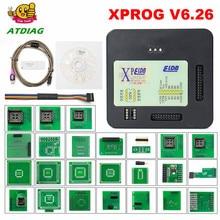 XPROG V6.26/6.17/6.12 ECU Programmer Add New Authorization Xprog V5.84 X PROG 6.26 Xprog EEPROM Adapter X-PROG M Xprog 5.55