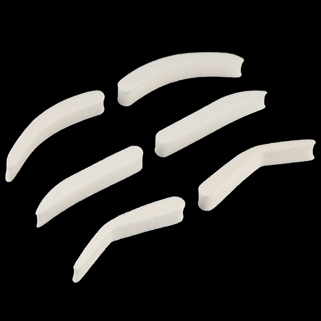 1Pair Eyebrow Template Stamp Sponge Stencils Eye Makeup 3style Natural Brow Type Professional Eye Make Up 1