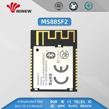 5Pcs ตาข่าย Nrf52840 โมดูล UHF Wireless 2.4 GHz เครื่องส่งสัญญาณ UART ยาวเครื่องส่งสัญญาณ MS88SF2 BLE 5.0 โมดูล