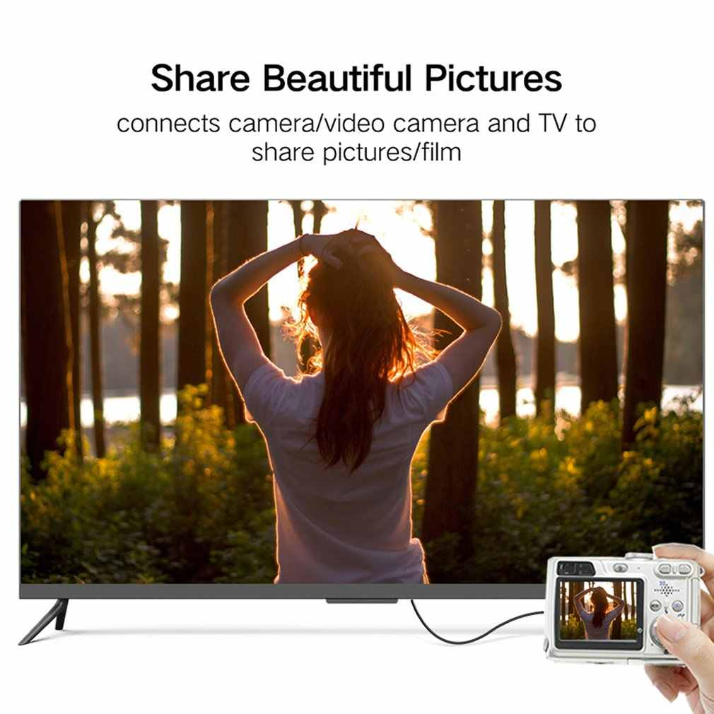 1 M, 1.5 m, 2 M, 3M Hoge snelheid Vergulde HDMI MINI HDMI Plug Male-Male HDMI Kabel 1.4 Versie 1080p 3D voor TABLETTEN DVD