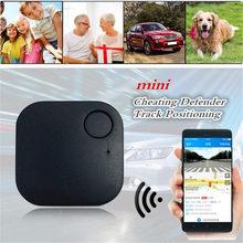 1 Uds coche GPS inteligente rastreador de baja energía Bluetooth de 4,0 vehículos en tiempo real de seguimiento mascotas cartera Anti-perder rastreador accesorio