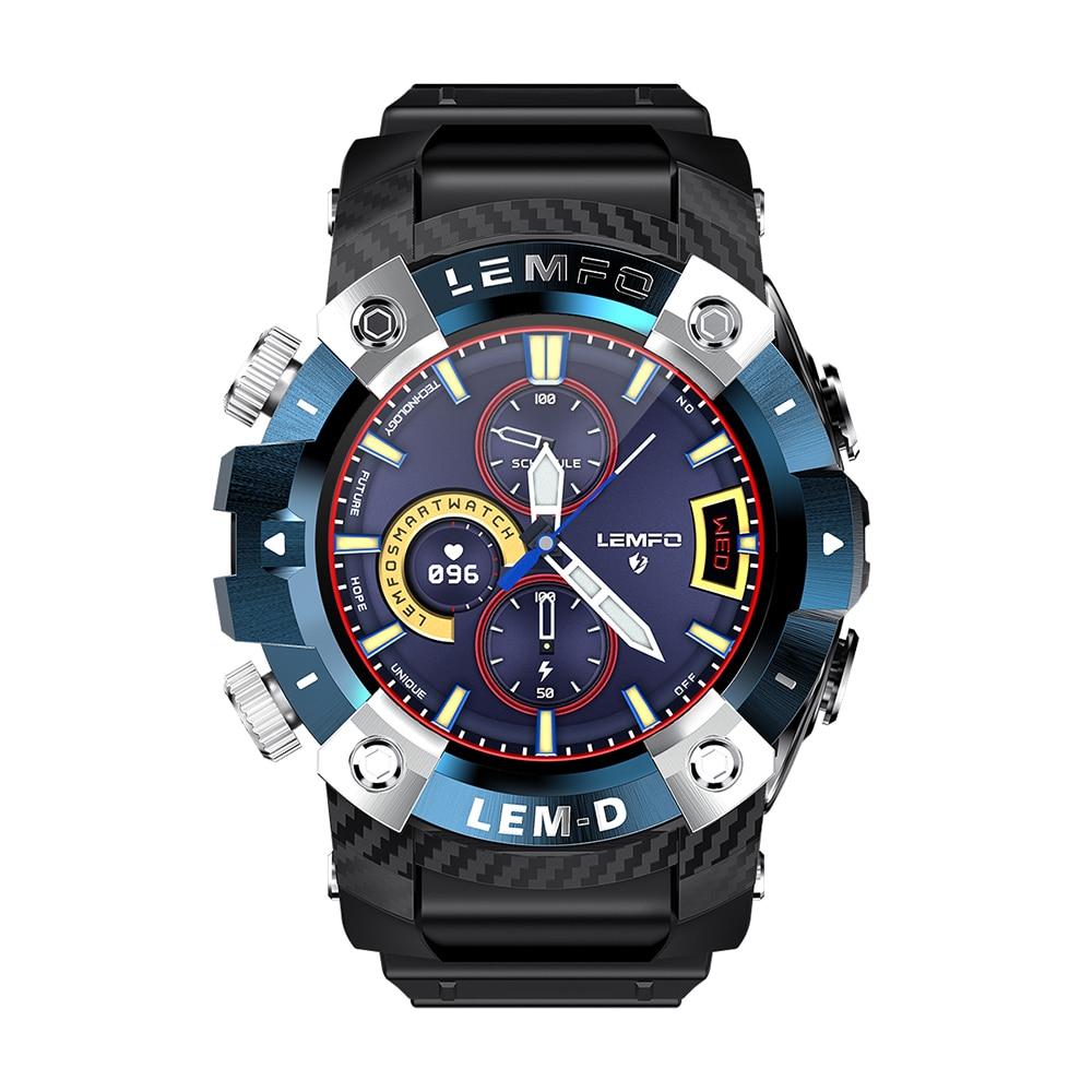H0831cb1075c04fe281d63a8d755aa4ceR LEMFO LEMD Smart Watch Wireless Bluetooth 5.0 Earphone 2 In 1