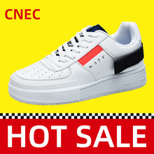 2020 Genuine CNEC Sneakers Shoes For Women Man Ladies White Fashion Safety Sport Trainers Platform Basket Homme Femme Air Forece(China)