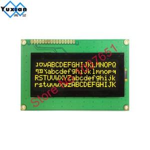 Image 5 - 20x4 2004 oled display Russian European English Japanese font SPI IIC I2C 98*60mm  module 3.3v 5v yellow  white  16pin LEC2041