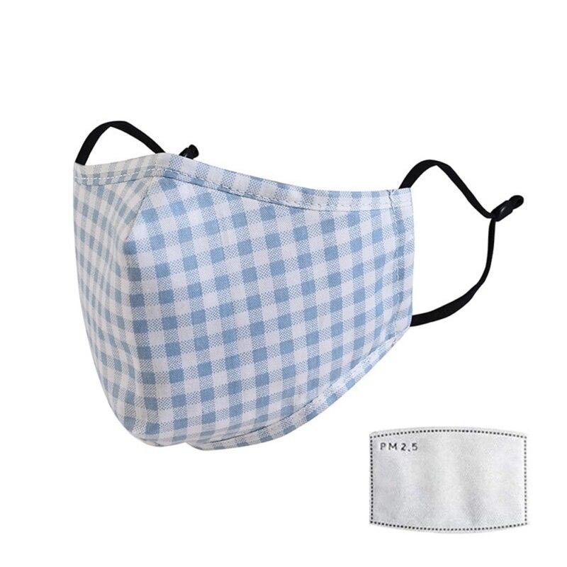 Детская Хлопковая маска для взрослых PM2.5 черная маска для рта 1 шт. Пылезащитная маска + фильтр для лица PM2.5