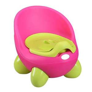 Baby Potty Toilet-Seat-Ring Training-Tool Plastics with Armrest Girl Kid Product Environmental-Protection