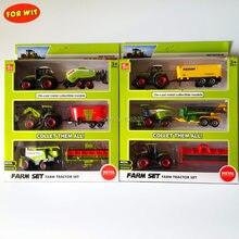 뜨거운 판매 Agrimotor 농장 트랙터, 파종기 트레일러 모델 장난감, 무료 비용 효율적인 전세계 배송, 빠른 싼 최고 시장