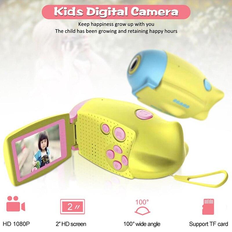 DV02 Новая Детская Цифровая камера 2,0 дюймов цветной дисплей HD детская DV камера детская видеокамера HD камера для детей Подарки