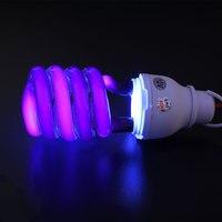 Лампа светодиодная с зажимом люминесцентная лампа 40 Вт ультрафиолетовая УФ DC12V Blacklight энергосберегающие КЛЛ