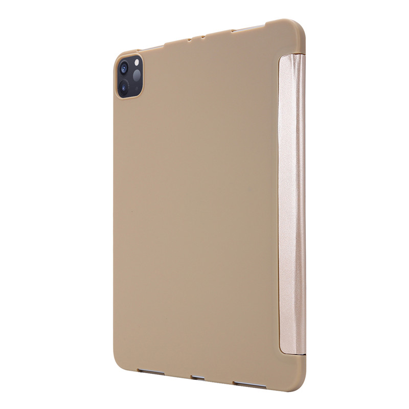 iPad Case 11Pro Soft For Smart Case 2020 For Leather Cover Case PU Silicone Tri-fold
