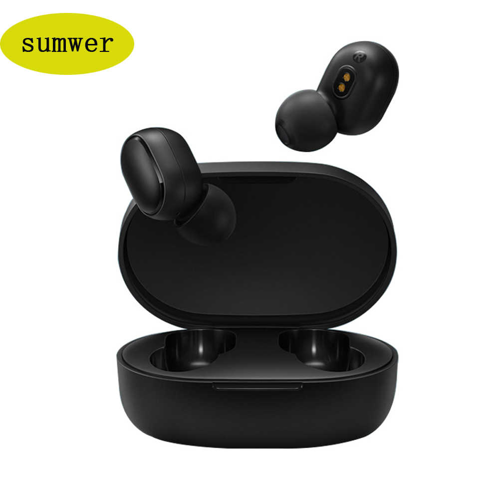 New A6S TWS Wireless Earphone HiFi Bluetooth 5.0 Voice control Sport Headset Stereo In-Ear Headphones mini Earbuds