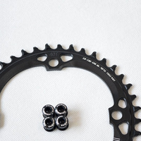 36~40T Single Speed Chainring 120 BCD Narrow Wide Chain Ring For MTB Bikes Parts