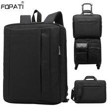 Convertible Large Laptop Backpack Men 15 17 Inch Business Shoulder Bag Backpack Men School Bag For