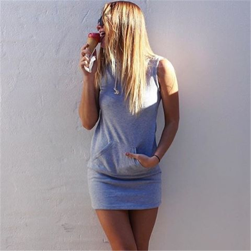 H08330f467caa483384626e7db4e39837b - Hooded Sweatshirt Dress O-neck Sexy Elegant Women Party Dresses Fashion Bodycon Short Dress Package Hips Slim Summer Female