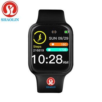 Women Waterproof Smart Watch 38mm Man Bluetooth Smartwatch For Apple Watch IPhone Android Heart Rate Monitor Fitness Tracker IWO
