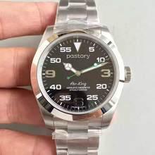 U1-Reloj de pulsera de acero inoxidable para hombre, de lujo, reloj mecánico automático de cristal y zafiro, 40MM, 2020