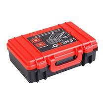 バッテリー収納ボックスポータブルキャリングバッグメモリカードホルダーニコンEN EL14 EN EL15/キヤノン/ソニーNP FW50 NP W126 NP BX1