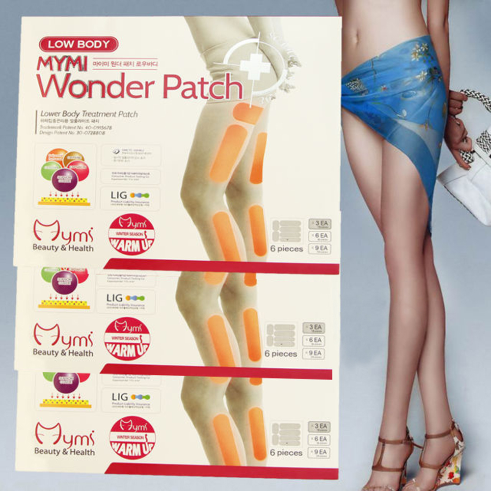 Slimming Patches Thigh Calf Arm Shaping Leg Stick Moisturizing Skin Beauty Care Weight Loss 6Pcs Stovepipe Stickers