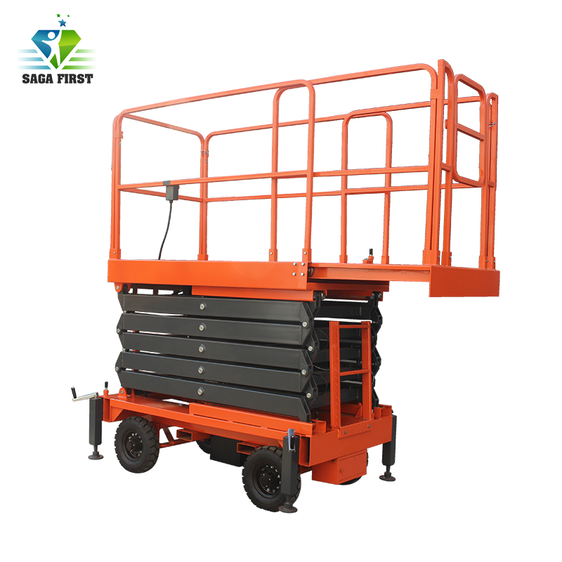 Good Quality Electric Scissor Lifting Machine
