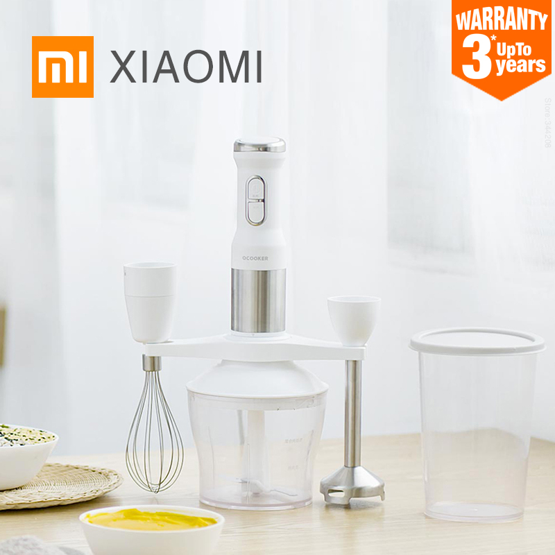 ! XIAOMI MIJIA QCOOKER CD-HB01 hand Blender Electric Kitchen Portable Food Processor mixer juicer Multi function Quick Cooking(China)