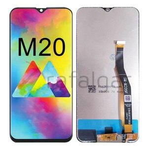 Image 2 - Voor Samsung Galaxy M20 Lcd Display M205 M205F/Ds M205FN/Ds M205G Touch Screen Digitizer Vergadering Voor Samsung m20 Lcd Met Frame