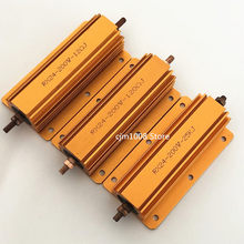 PEÇAS de Alumínio Shell Power Metal Caso Wirewound Resistor RX24 1 200W 39R 40R 47R 50R 56R 68R 75R 82R 90R 100R 120R 150R 180R ohm