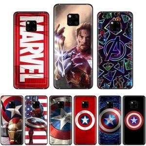 Marvel Captain America силиконовый чехол для Huawei Mate 9 10 20 Pro lite 20x nova 3e P10 plus P20 Pro Honor10 lite