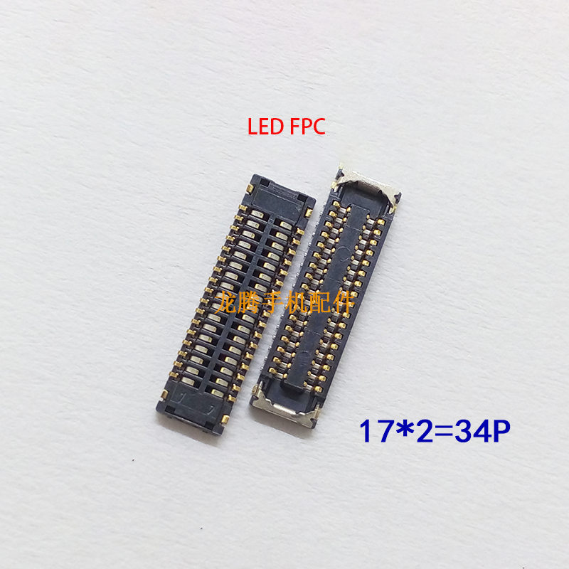 LCD Display FPC Connector Plug MotherBoard Pin For Huawei Y7 2019 Y7 Prime 2019 Y6 2019  P Smart + 2019 P Smart 2019