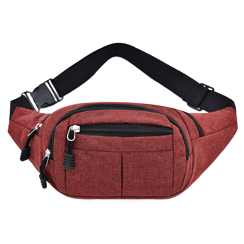 2019 New Style Oxford Cloth Fashion MEN'S AND WOMEN'S Canvas Waist Pack Sports Shoulder Bag Money Wallet A Generation Of Fat