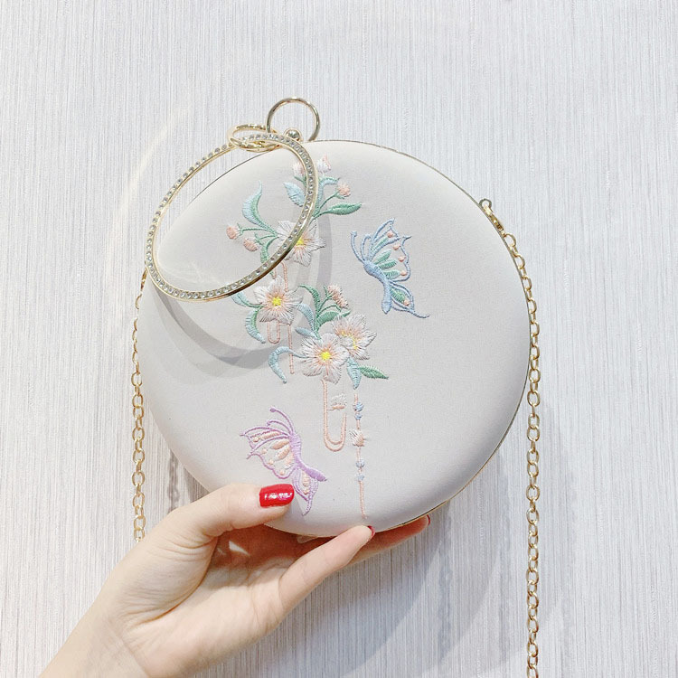 Сумка-мессенджер с вышивкой Cheongsam, китайская ручная сумка с вышивкой, новинка, ручная сумка, вечерние сумки - Цвет: 10