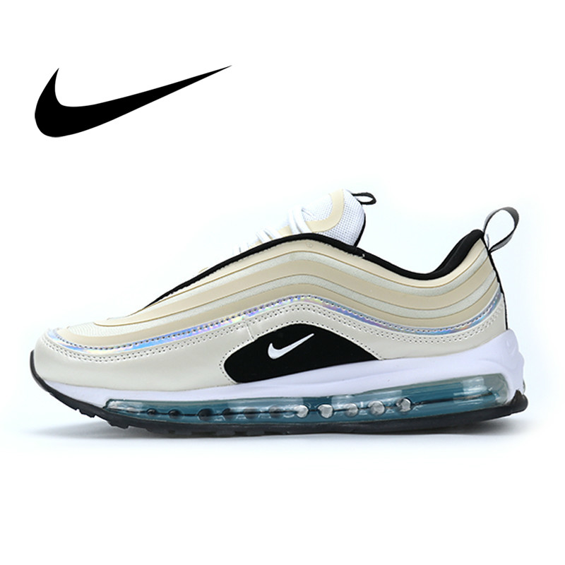 Original Nike Air Max 97 Professional Men's Running Shoes Outdoor Sneakers Retro Low-top Shock Absorption Anti-slippery BV6666