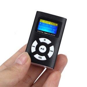 Портативный автомобильный Hi-Fi USB мини MP3 музыкальный плеер, экран с поддержкой ЖК-дисплея 32 ГБ, спортивный музыкальный плеер